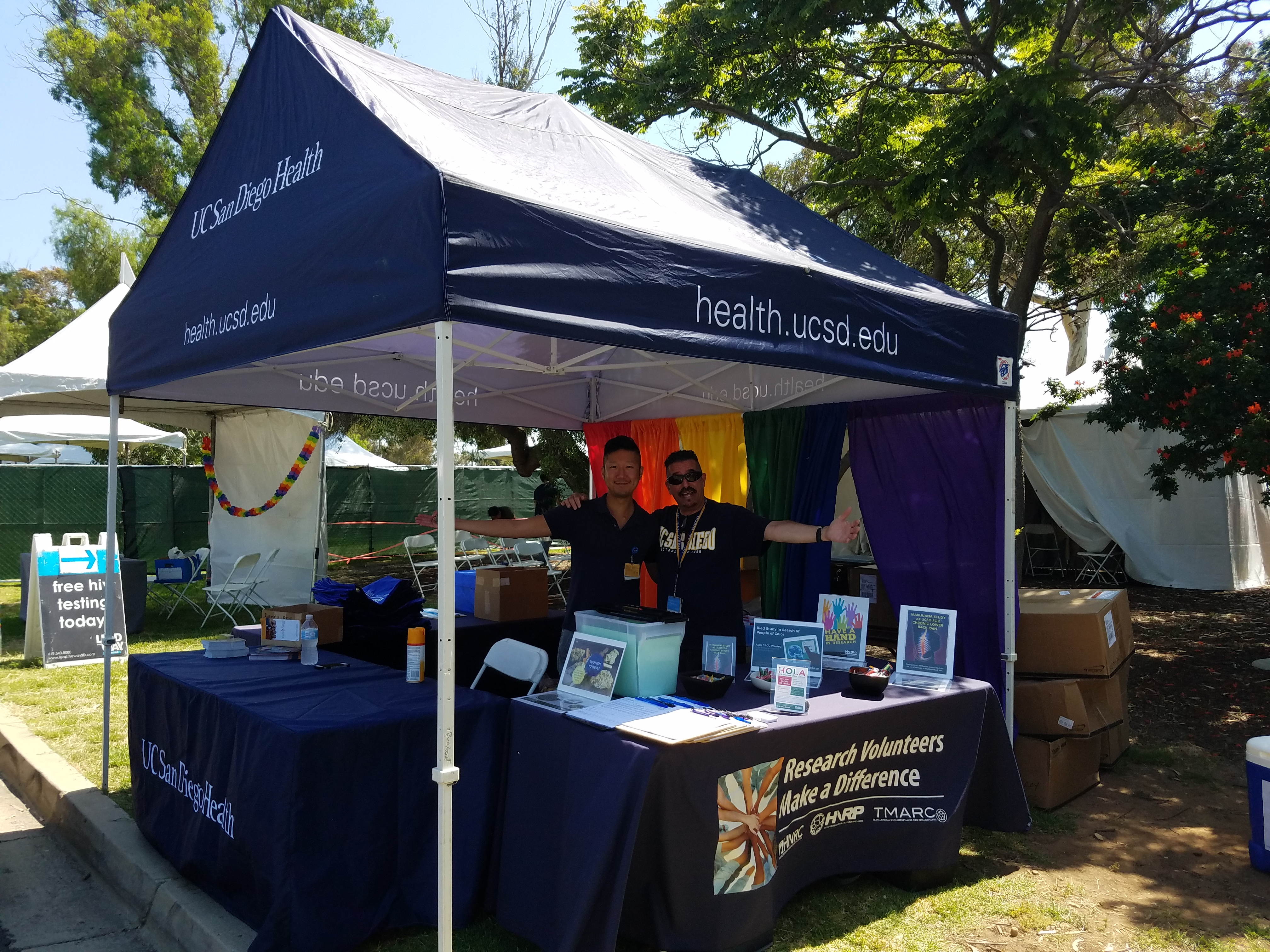 Booth at Pride 2018